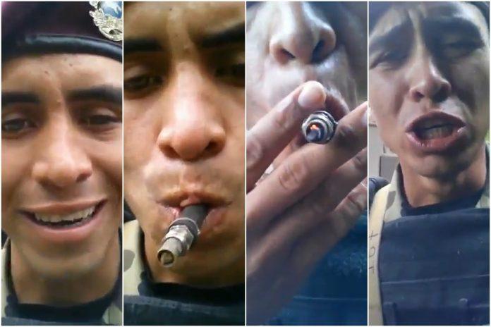 Detuvieron a un sargento en Yaracuy por atentar contra el decoro militar: se grabó fumando presunta marihuana 1