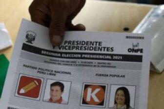 Perú sigue a la espera de la proclamación de su presidente