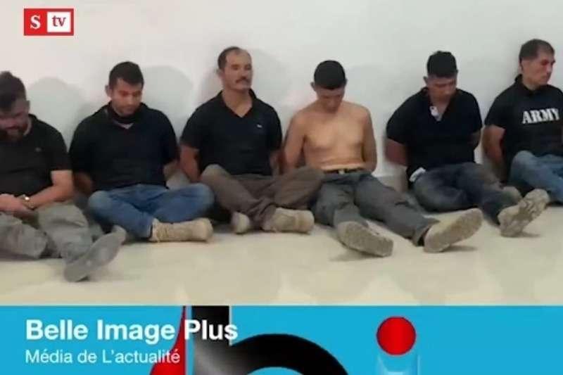 Así mostraron a los colombianos capturados en Haití y acusados del sangriento magnicidio contra el presidente, Jovenel Moïse (Video) 1