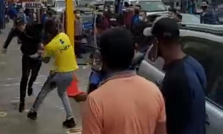 Riña entre venezolanos deja un muerto en Perú (Video) 10