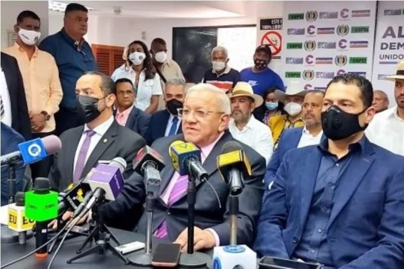 Difunden lista de los candidatos de la «Alianza Democrática» para las megaelecciones del 21Nov (Video) 1