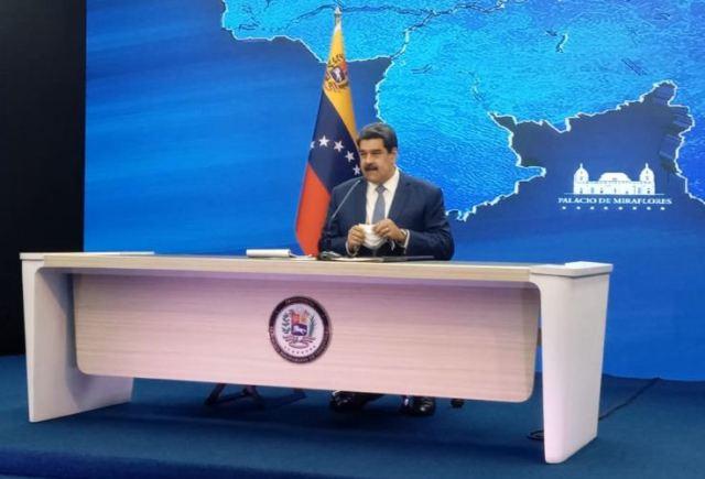 Maduro reiteró el regreso a clases presenciales en octubre 5