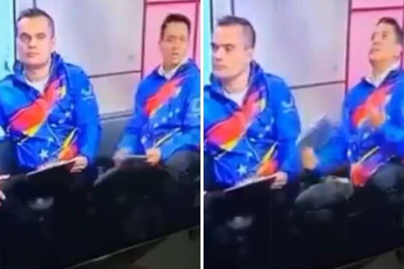 """Chavista pide a TVES disculparse por maltrato a invitado aunque justifica falta de apoyo a atletas: """"Estamos bajo un bloqueo"""" 1"""