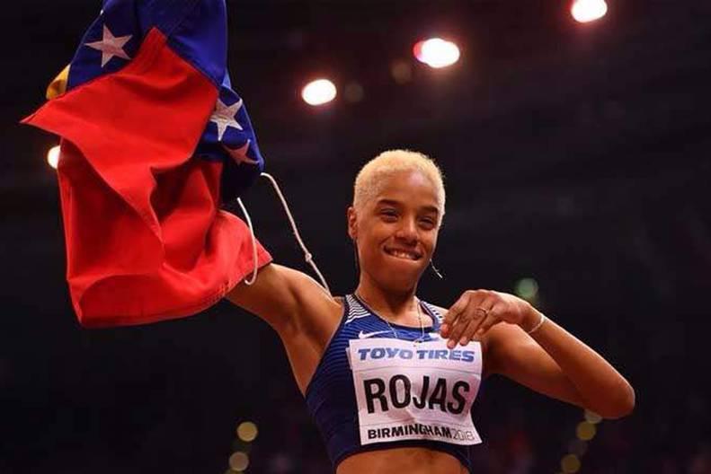 Yulimar Rojas también competiría en salto de longitud en París 2024 3